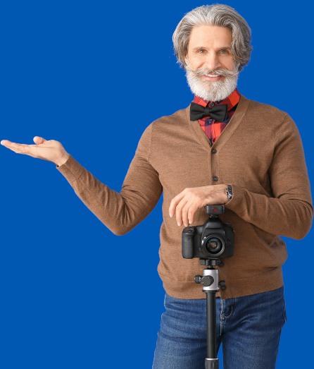 Australian business man in photography.